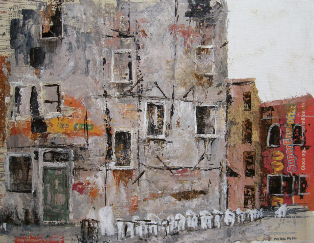 Italy painted by nao morigo
